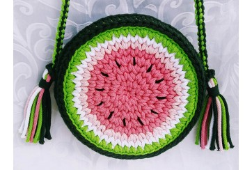 "DIY ""WATERMELON BAG"""
